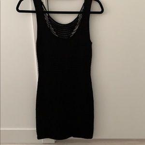 the mini black dress